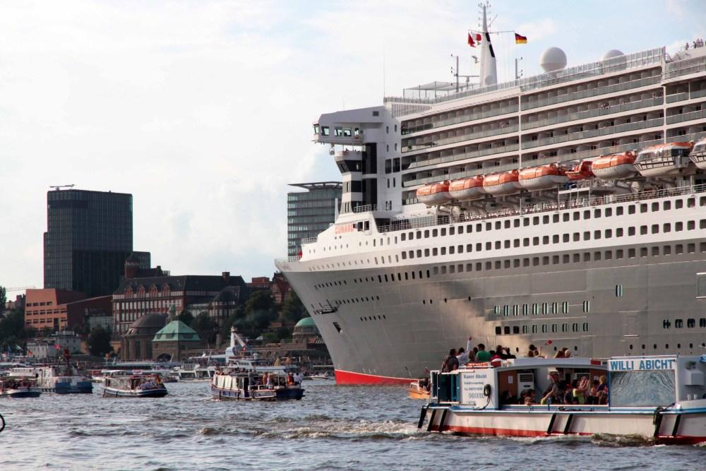 Auf Wiedersehen, Queen Mary 2!