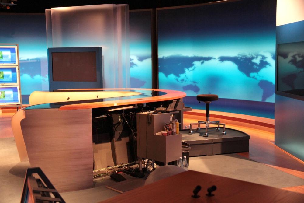 Studio der Tagesschau beim NDR Hamburg (2/2)