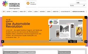 morgen in hamburg, webseite zur umweltinformation