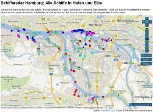 Schiffsradar Hamburg