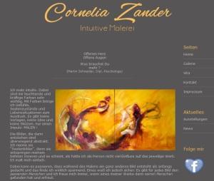 cornelia zander webseite  by abendfarben