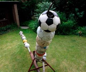 knott ausstellung poppenbüttel kunst fussball