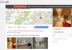 google hamburg abc strasse