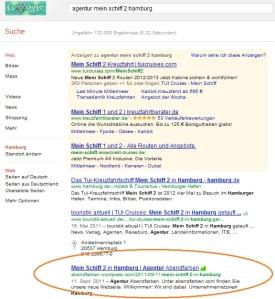 mein schiff google suche agentur abendfarben
