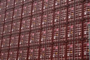 Container Hafen Hamburg by abendfarben