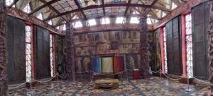Kunsttempel Bossard Nordheide Panorama by abendfarben
