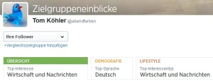 twitter top follower interesse zielgruppe by abendfarben